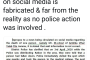 Report on the Viral Social media message about demise of a person in police lathi charge